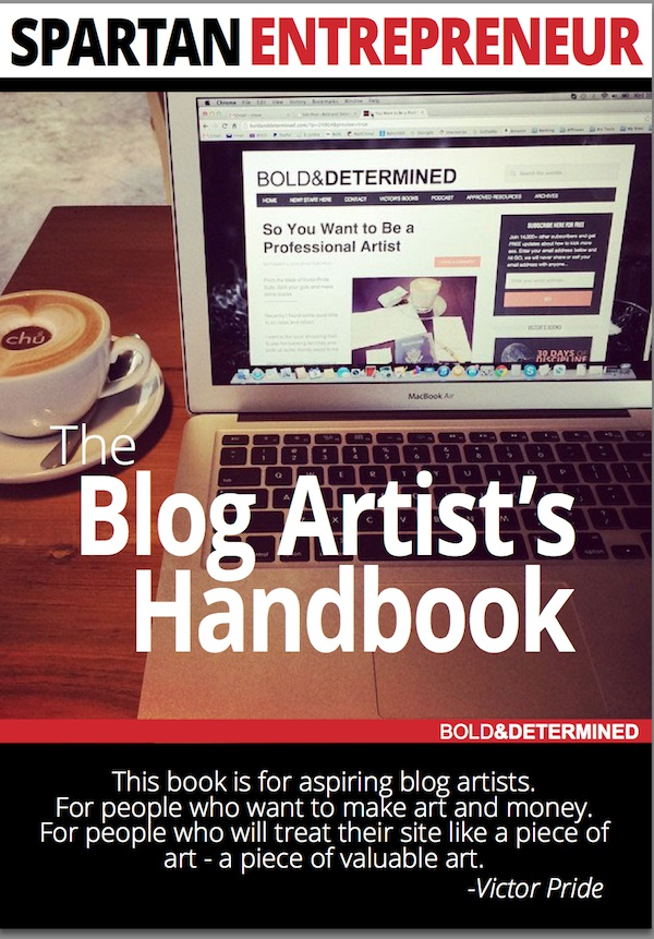 Blog Artists Handbook Cover