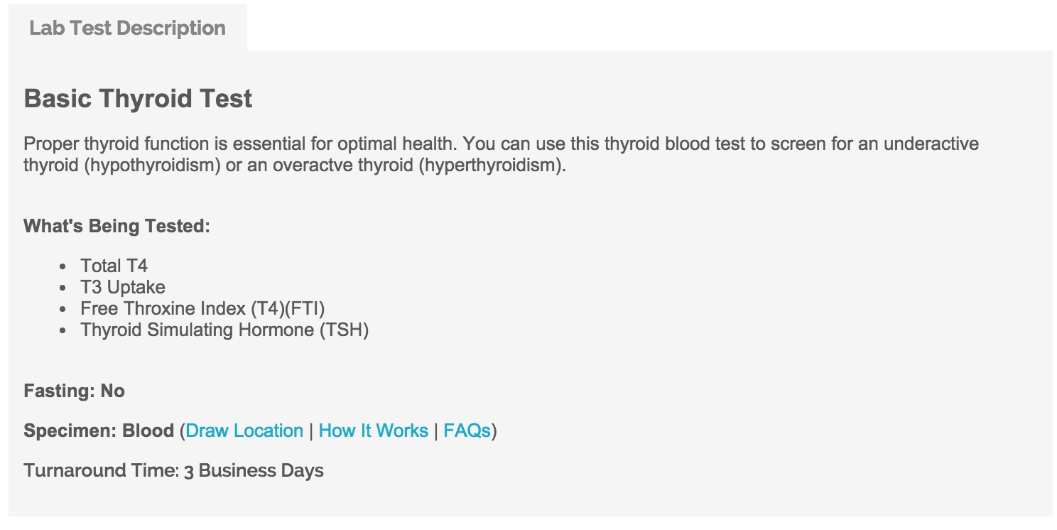 how to get accurate thyroid test