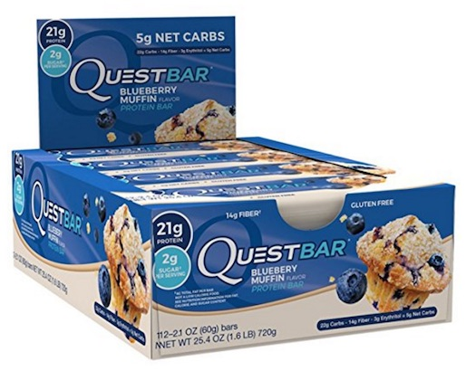 Blue Quest Bars