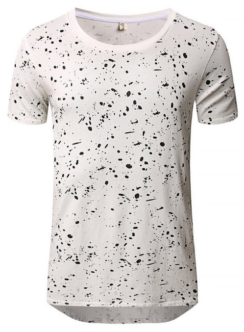 Paint Splatter Shirt