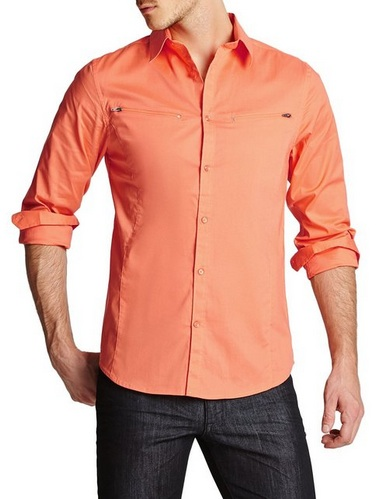 Orange Guess Long-Sleeve shirt
