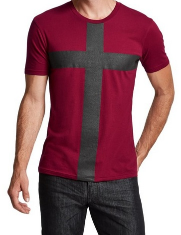 Red Cross Guess Shirt