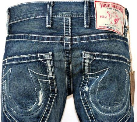 Mens True Religion Micky Big T Jeans