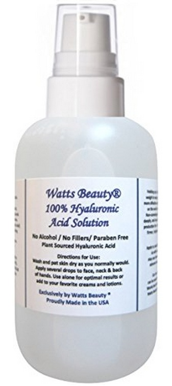 watts hyaluronic acid solution