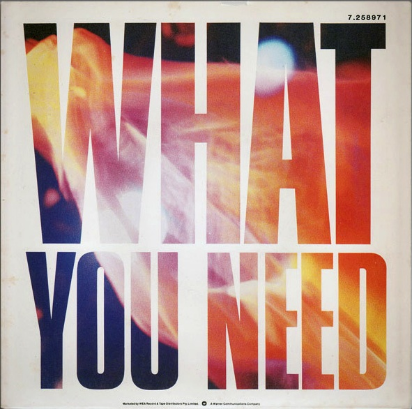 what you need poster