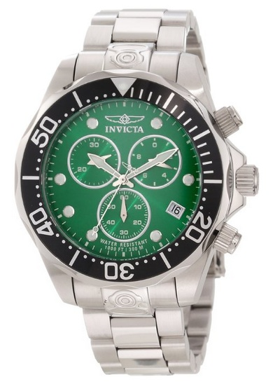 Invicta Watch Green Spring
