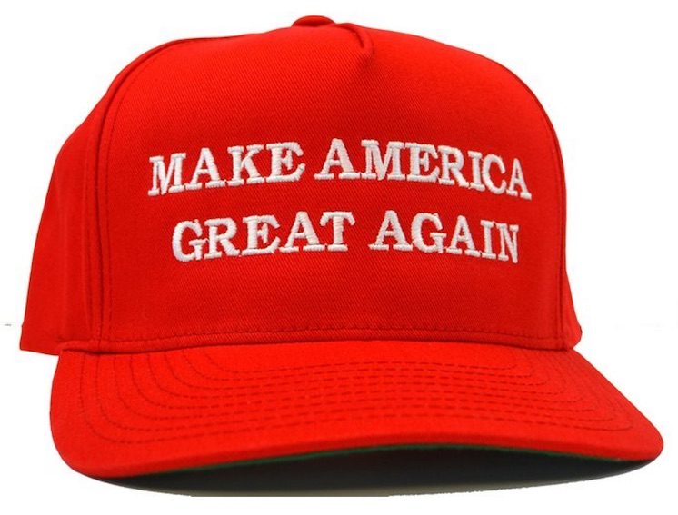 how to get the trump hat in canada