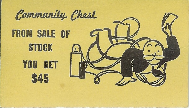community chest stock