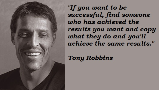 tony robbins on sucess