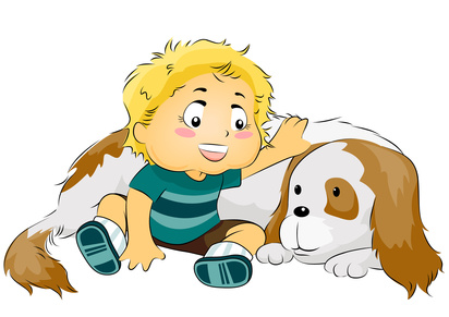 boy and dog 1