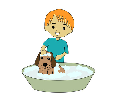 boy and dog 2