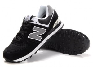 New Balance sneakers. The black, gray and white tones are great neutral colors so you can wear them with almost any casual outfit. They aren't too loud so they won't take away from the outfit.