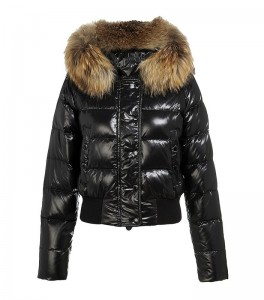 OVER-STYLED - OUT OF DATE- The fur on a puffy coat