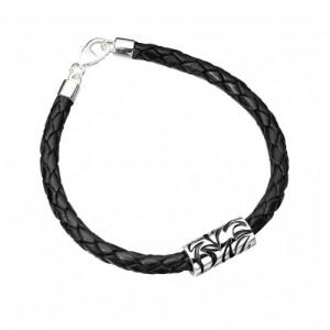 Bad black wrist band