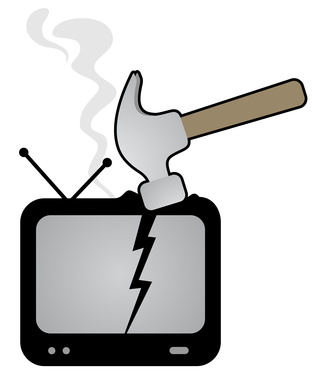Hammer and tv