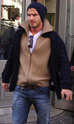 David Beckham Beanies