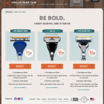 Dollar Shave Club Choices