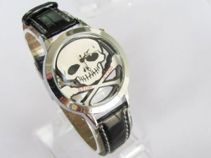 Scull watch