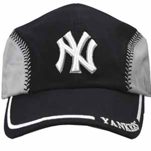 This is the type of hat that a guy who goes to baseball games alone wears.