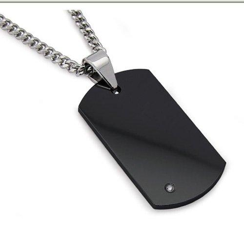 black dog tags