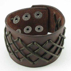brown wrist band