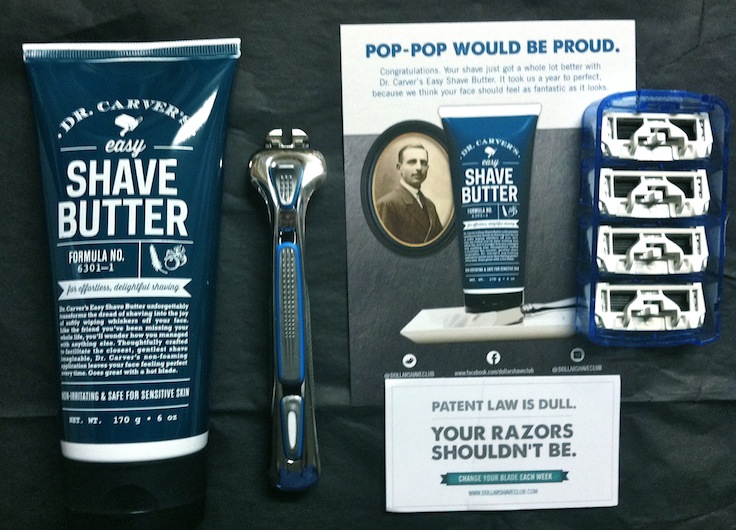 one dollar shave club