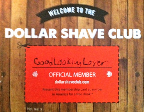 Good Looking Loser's Dollar Shave Club Razor Review