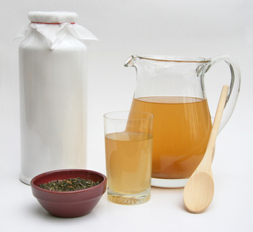 ingredients in kombucha tea