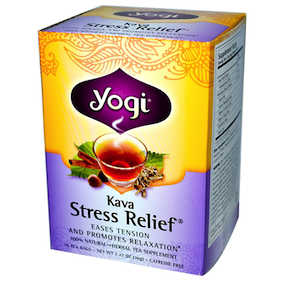Kava Tea (Yogi Kava Stress Relief Tea)
