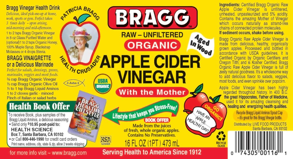 Brag Ingredients