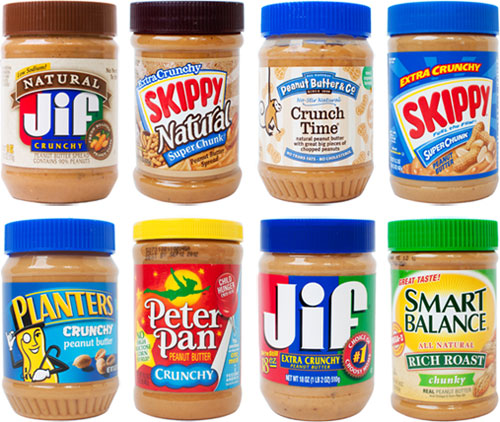 popular peanut butter brands
