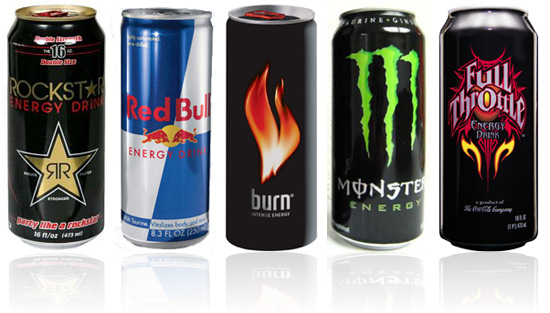 popular energy drinks