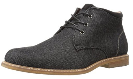 Black Synthetic Chukka