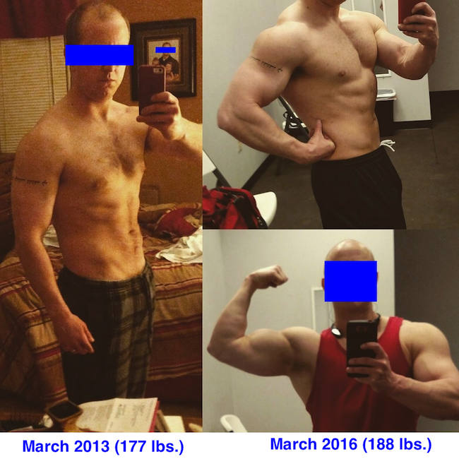 GLL Fat Loss Diet Before After Erik
