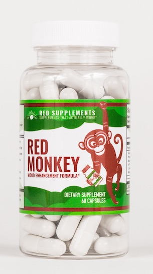 Red Monkey Bottle