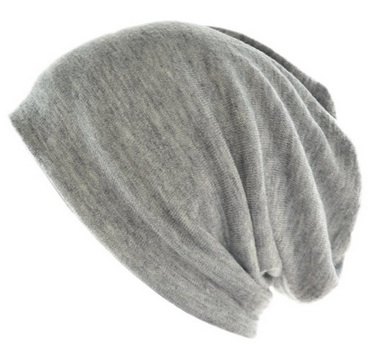 New grey beanie