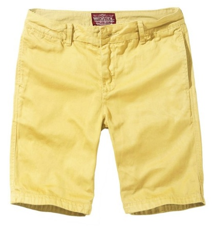 Yellow Spring Shorts