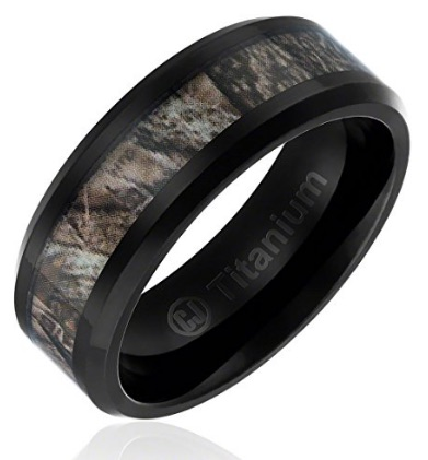WI 16 Mens Camo Ring