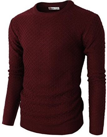 WI 16 Red Knit Sweater