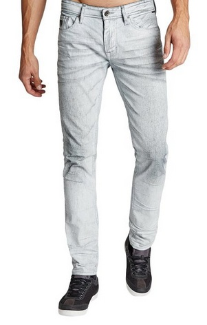 White edgy Guess Jeans