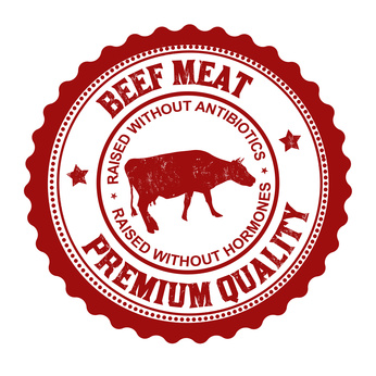 organic beef stamp
